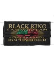 Black King Cloth face mask thumbnail