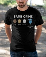 Same Crime  Classic T-Shirt apparel-classic-tshirt-lifestyle-front-50