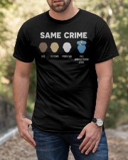 Same Crime  Classic T-Shirt apparel-classic-tshirt-lifestyle-front-53