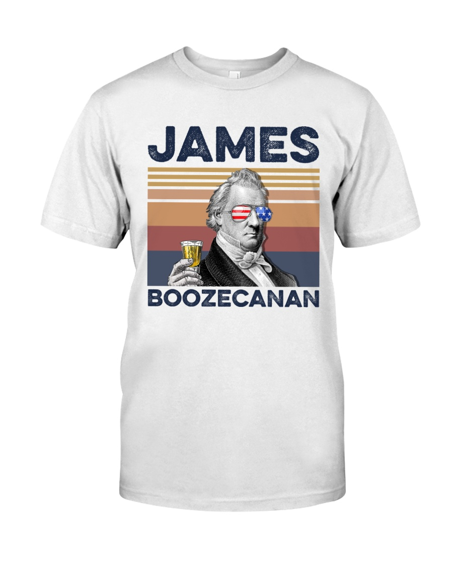 US Beer James Boozecanan Classic T-Shirt
