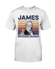 US Beer James Boozecanan Classic T-Shirt front