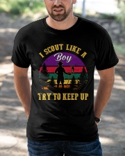 Try to keep up Boy Scout Classic T-Shirt apparel-classic-tshirt-lifestyle-front-50