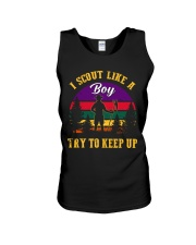 Try to keep up Boy Scout Unisex Tank thumbnail