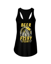 Beer Fishy Fishy Funny Love Fishing and Drinking Ladies Flowy Tank thumbnail