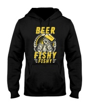 Beer Fishy Fishy Funny Love Fishing and Drinking Hooded Sweatshirt thumbnail