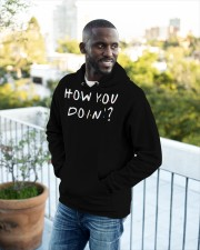 How You Doin - Friends Hooded Sweatshirt apparel-hooded-sweatshirt-lifestyle-front-16