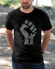 BLM Punch Classic T-Shirt apparel-classic-tshirt-lifestyle-front-50