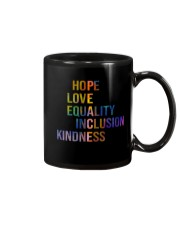 Hope Love Equality Inclusion Kindness Mug thumbnail