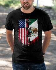Mexico - United State Classic T-Shirt apparel-classic-tshirt-lifestyle-front-50