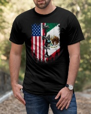 Mexico - United State Classic T-Shirt apparel-classic-tshirt-lifestyle-front-53