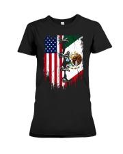 Mexico - United State Premium Fit Ladies Tee thumbnail