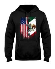 Mexico - United State Hooded Sweatshirt thumbnail