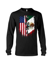 Mexico - United State Long Sleeve Tee thumbnail