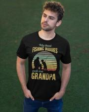My Best Fishing Budddies Classic T-Shirt apparel-classic-tshirt-lifestyle-front-43