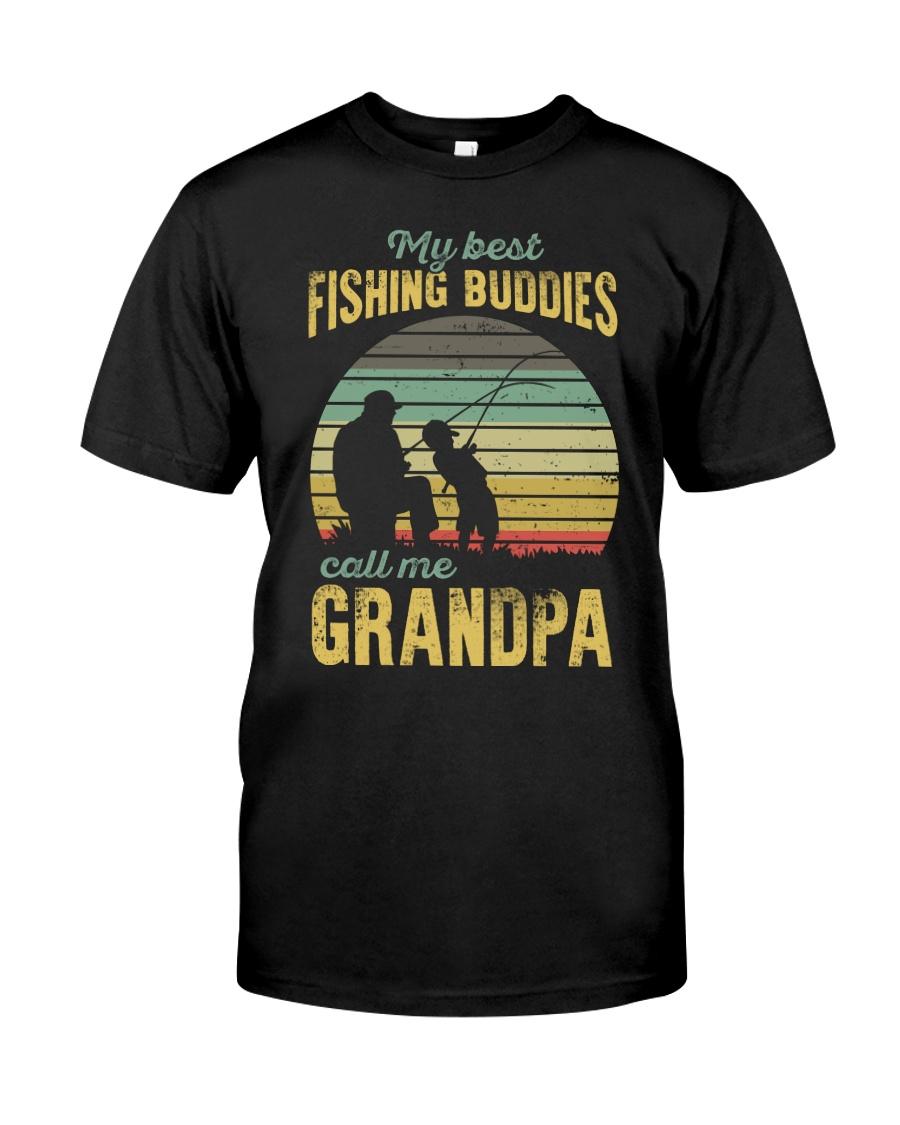 My Best Fishing Budddies Classic T-Shirt