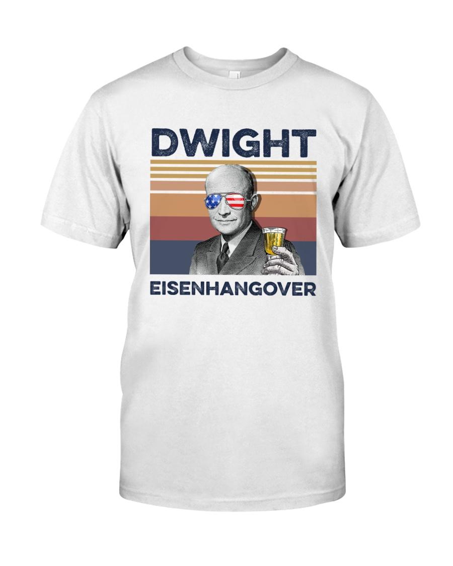 US Beer Dwight Eisenhangover Classic T-Shirt