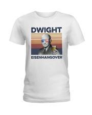 US Beer Dwight Eisenhangover Ladies T-Shirt thumbnail