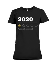 2020 - Bad Year  Premium Fit Ladies Tee thumbnail