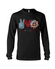 Peace Love America Long Sleeve Tee thumbnail