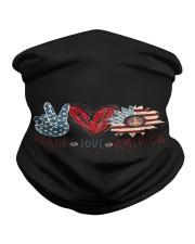 Peace Love America Neck Gaiter thumbnail