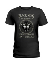 Black King Ladies T-Shirt thumbnail