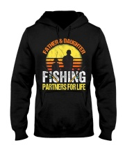 Fisherman Dad and Daughter Fishing Partners  Hooded Sweatshirt thumbnail