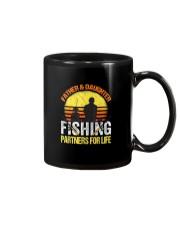 Fisherman Dad and Daughter Fishing Partners  Mug thumbnail