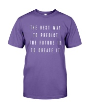 The Best Way To Predict The Future Is To Create Premium Fit Mens Tee thumbnail