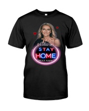 DION STAY HOME Classic T-Shirt thumbnail