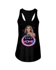DION STAY HOME Ladies Flowy Tank thumbnail