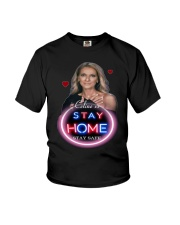 DION STAY HOME Youth T-Shirt thumbnail