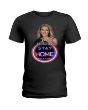 DION STAY HOME Ladies T-Shirt thumbnail