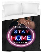 DION STAY HOME Duvet Cover - Twin thumbnail