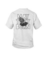May They Burn Youth T-Shirt thumbnail