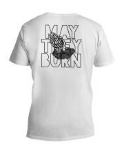 May They Burn V-Neck T-Shirt thumbnail