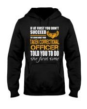 STICKER TAKEN CORRECTIONAL OFFICER Hooded Sweatshirt thumbnail