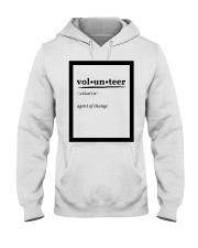 Agent of Change - PPI Hooded Sweatshirt front