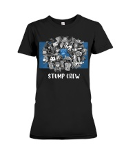 STUMP CREW DESIGN Premium Fit Ladies Tee thumbnail