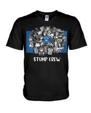 STUMP CREW DESIGN V-Neck T-Shirt thumbnail