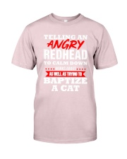 Telling an Angry Redhead Premium Fit Mens Tee thumbnail