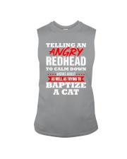 Telling an Angry Redhead Sleeveless Tee thumbnail