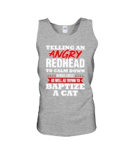 Telling an Angry Redhead Unisex Tank thumbnail