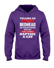 Telling an Angry Redhead Hooded Sweatshirt thumbnail