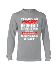 Telling an Angry Redhead Long Sleeve Tee thumbnail