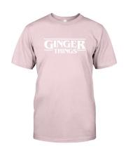Ginger things white Premium Fit Mens Tee thumbnail
