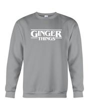 Ginger things white Crewneck Sweatshirt thumbnail
