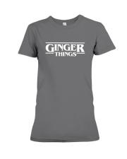 Ginger things white Premium Fit Ladies Tee thumbnail