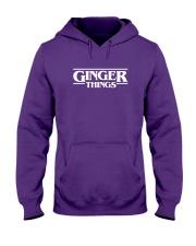 Ginger things white Hooded Sweatshirt thumbnail