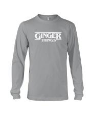 Ginger things white Long Sleeve Tee thumbnail