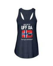 UFF DA Ladies Flowy Tank thumbnail